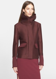 Nordstrom Signature and Caroline Issa 'Annabelle' Wool & Silk Coat