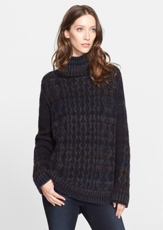 Nordstrom Signature and Caroline Issa Cable Knit Oversize Cashmere Sweater (Nordstrom Exclusive)