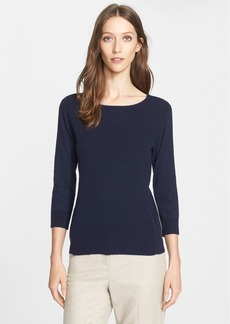 Nordstrom Signature and Caroline Issa Cashmere Blend Pullover