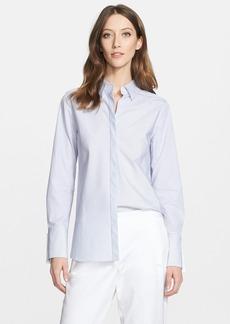Nordstrom Signature and Caroline Issa Classic Pinstripe Shirt