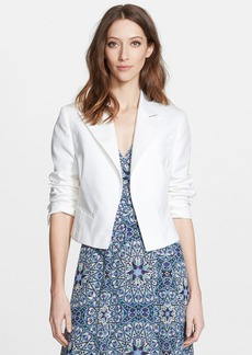 Nordstrom Signature and Caroline Issa Crop Spencer Jacket