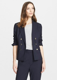 Nordstrom Signature and Caroline Issa Double Breasted Wool Suiting Jacket