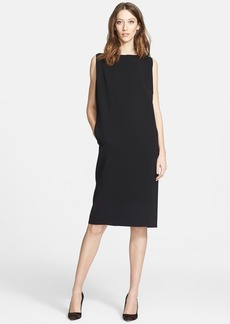 Nordstrom Signature and Caroline Issa Double Face Cocoon Dress