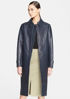 Nordstrom Signature and Caroline Issa Double Face Leather Jacket