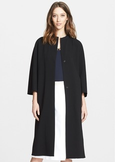 Nordstrom Signature and Caroline Issa Long Double Face Jacket