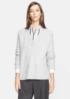 Nordstrom Signature and Caroline Issa V-Neck Cashmere Sweater (Nordstrom Exclusive)