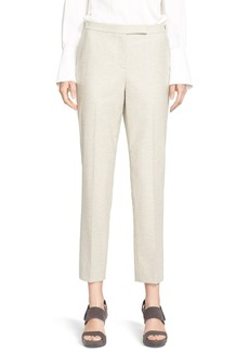Nordstrom Signature and Caroline Issa Winter Flannel Ankle Pants