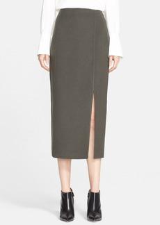 Nordstrom Signature and Caroline Issa 'Zealander' Slim Wool Pencil Skirt