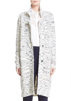 Nordstrom Signature and Caroline Issa Wool, Cashmere & Silk Tweed Cardigan