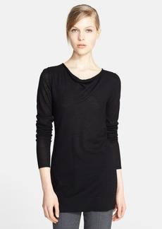 Nordstrom Signature Drape Neck Cashmere Sweater