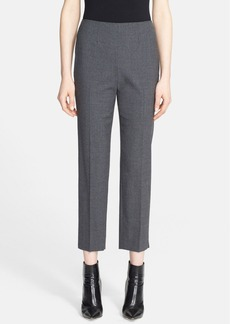 Nordstrom Signature 'Flanella' Stretch Wool Ankle Pants
