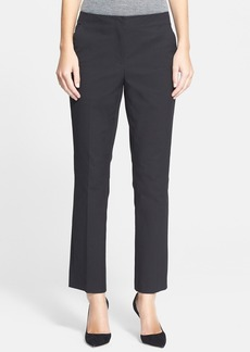 Nordstrom Signature 'Roma' Bi-Stretch Cotton Ankle Pants