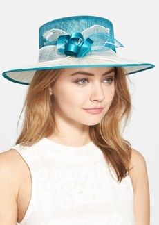 Nordstrom Sinamay Hat with Feather