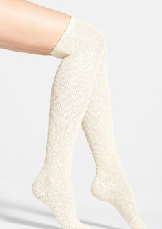 Nordstrom Slub Knit Over the Knee Socks