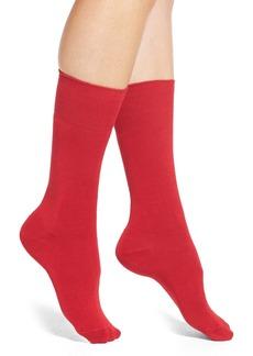 Nordstrom Solid Crew Socks