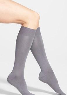 Nordstrom Solid Microfiber Trouser Socks (3 for $18)