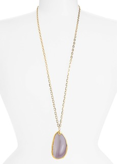 Nordstrom 'Sorcerer's Stone' Long Pendant Necklace