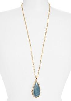 Nordstrom 'Sorcerer's Stone' Long Teardrop Pendant Necklace