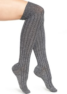 Nordstrom Sparkle Knit Over the Knee Socks