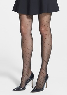 Nordstrom 'Spiral Dot' Sheer Tights