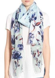 Nordstrom Spliced Print Cashmere & Silk Scarf