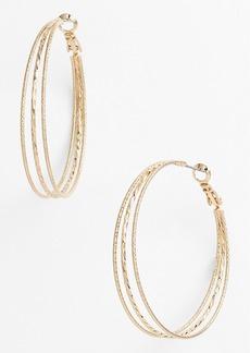 Nordstrom Split Hoop Earrings