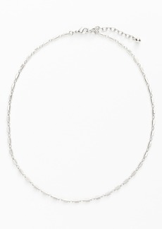 Nordstrom Square Link Collar Necklace