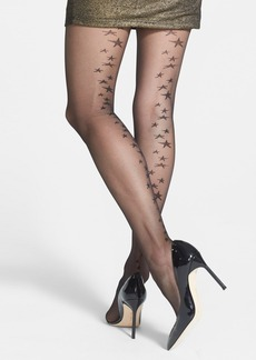 Nordstrom Star Back Seam Sheer Tights