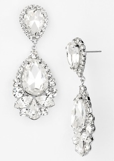 Nordstrom Stone Teardrop Earrings