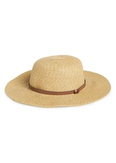 Nordstrom Straw Floppy Hat