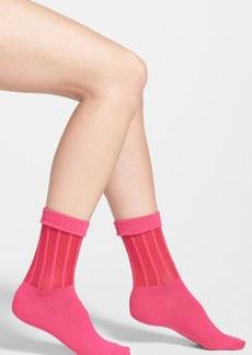 Nordstrom Stripe Anklet Socks