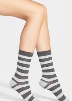 Nordstrom Stripe Crew Socks