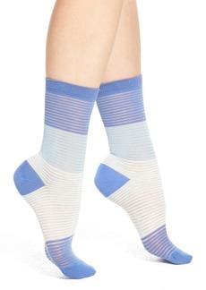 Nordstrom Stripe Dye Crew Socks