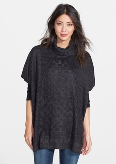 Nordstrom Textural Check Cover Up
