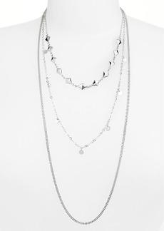 Nordstrom Three-Row Necklace