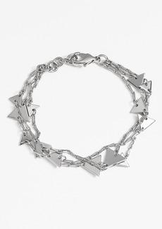 Nordstrom Three-Row Triangle Bracelet