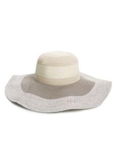 Nordstrom Tonal Stripe Floppy Sun Hat