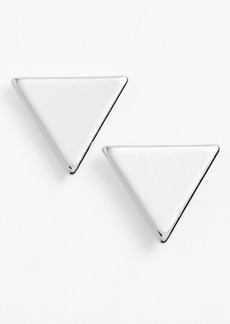 Nordstrom Triangle Stud Earrings