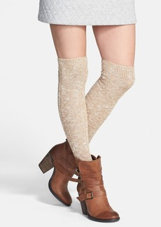 Nordstrom Twisted Yarn Over the Knee Socks