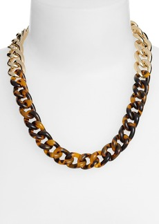 Nordstrom Two-Tone Curb Link Necklace