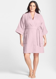 Nordstrom Waffle Cotton Robe (Plus Size)