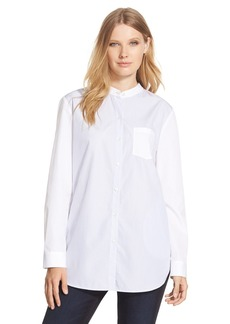 Nordstrom Collection 'Portland Microstripe' Tunic Shirt