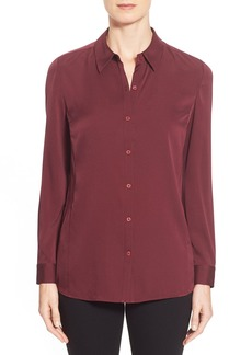 Nordstrom Collection Stretch Silk Shirt