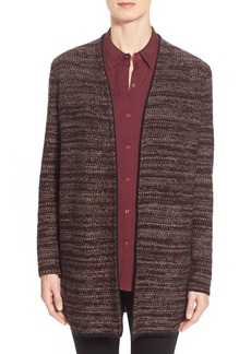 NordstromCollection Stripe Cashmere Sweater Jacket