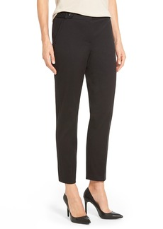 Nordstrom Collection 'Biba' Tab Front Ankle Pants