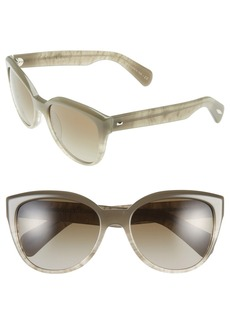 Oliver Peoples 'Abrie' 58mm Cat Eye Sunglasses