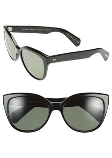 Oliver Peoples 'Abrie' 58mm Polarized Cat Eye Sunglasses