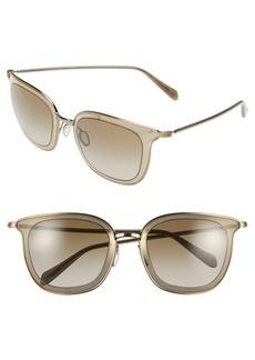 Oliver Peoples 'Annetta' 64mm Retro Sunglasses