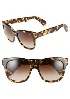 Oliver Peoples 'Brinley' 54mm Retro Sunglasses