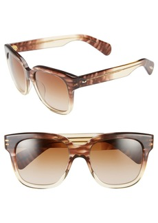 Oliver Peoples 'Brinley' 54mm Retro Sunglasses